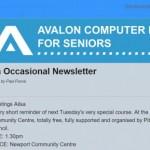 Example newsletter